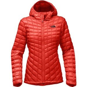 NORTH FACE THERMOBALL QUILTED HOOFIE JACKET